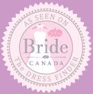 Featured on the Bride.Canada Wedding Dressfinder